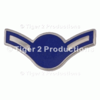 AIRMAN (BLUE STAR) METAL PAIR