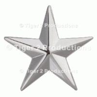 BRIGADIER GENERAL (ARMY/USAF)/REAR ADMIRAL LOWER HALF (USN) COLLAR PAIR
