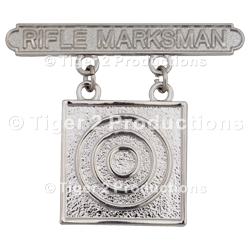 RIFLE MARKSMAN BADGE USMC