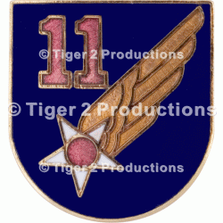 11th AIR FORCE PIN ARMY AIR FORCE