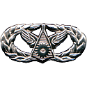 AIR FORCE CIVIL ENGINEER BADGE - BASIC - TYPE 2 (2005 - 2010)