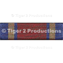 CALIFORNIA NATIONAL GUARD MEDAL OF VALOR RIBBON