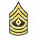 1st SERGEANT (ARMY)  DRESS BLUE MEN PAIR