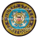 COAST GUARD BULLION BLAZER CREST SMALL