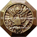 OFFICE OF PERSONNEL MANAGEMENT 10 YEARS SERVICE LAPEL PIN