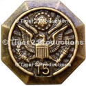 OFFICE OF PERSONNEL MANAGEMENT 15 YEARS SERVICE LAPEL PIN