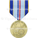 AIR FORCE 50th ANNIVERSARY GOLD MEDAL REGULATION SIZE