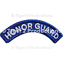 HONOR GUARD TAB BLUE AND WHITE