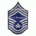 CHIEF MASTER SERGEANT METAL PAIR