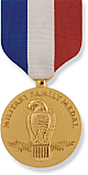 MILITARY FAMILY MEDAL GOLD