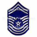 CHIEF MASTER SERGEANT (1st TYPE) METAL PAIR