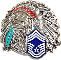 CHIEF MASTER SERGEANT COIN SHINY FINISH
