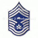 CHIEF MASTER SERGEANT (1st SGT) METAL PAIR